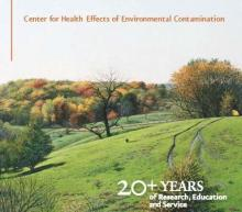 Cover of the CHEEC 2007-2008 biennial report