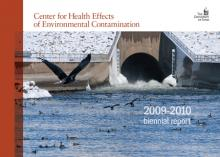 Cover of the CHEEC 2009-2010 biennial report